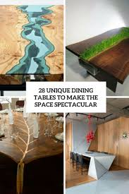 unique wood furniture. Unique Dining Tables To Make The Space Spectacular Cover Wood Furniture M