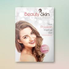 Skin Beauty Treatment Flyer Design Template For Free