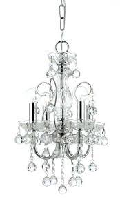 4 light chrome crystal chandelier imperial 4 light clear crystal chrome mini chandelier ii indoor 4