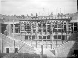 parliament house rear stairway under construction 1 january 1926 national archives of australia a3560 645