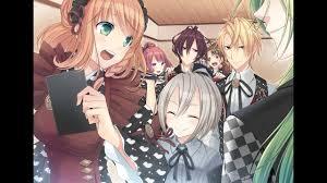 Anime girl and boys