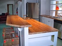 Reclaimed Wood Countertops Kitchen Countertop Reclaimed Wood - Kitchen counter bar