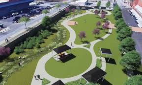 Vision Landscape Design Springfield Mo Downtown Section Of Springfield Creek To Be Restored And