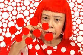 Le rond et Yayoi Kusama