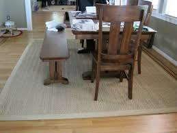 Under Dining Table Rugs How To Clean A Sisal Rug Clean This Carpet