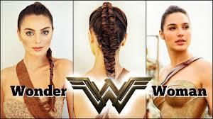 Wonder Woman Hair Style wonder woman movie 2017 makeup & braid tutorial gal gadot 1101 by wearticles.com