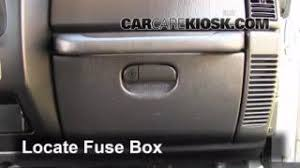 interior fuse box location 1997 2006 jeep wrangler 2004 jeep 1997 2006 jeep wrangler interior fuse check