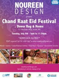noureen design chand raat eid festival at dover rug 721 worcester road natick ma tickets indian events desi events