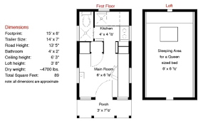 Small Picture 17 Best Images About Tiny Home Floor Plans On Pinterest House Tiny