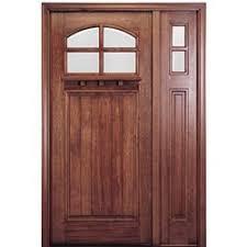 craftsman style front doorShop Craftsman Style Front Entry Wood Doors  Exterior Wood Doors
