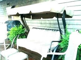 outdoor swing replacement seat