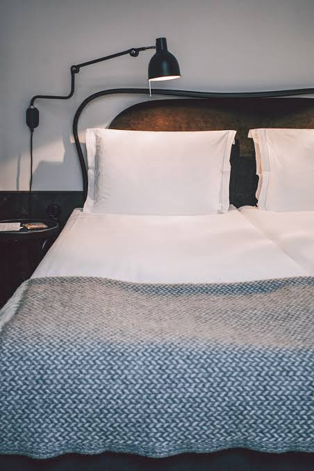 An extended stay hotel room