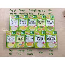 Bột ăn dặm Wakodo Nhật cho bé từ 5m - 5m bí ngô khoai lang | Bột, cháo ăn  dặm