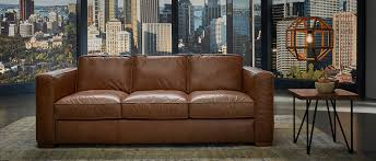 100 leather sofa bed
