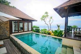 Located on Batu Belig Beach, D Chandrasti is another surprisingly  affordable find, with its stunning private infinity pool coupled with the  ocean view!