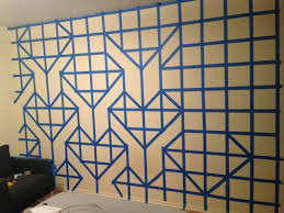 on diy wall art reddit with give this guy some paint and tape the end result will shock you