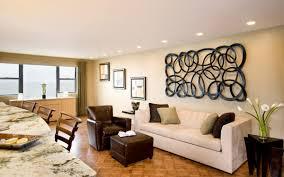 image of elegant modern wall decor for living room