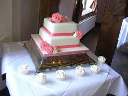 Elegant 2 Tier Wedding Cakes Wedding Academy Creative Simple