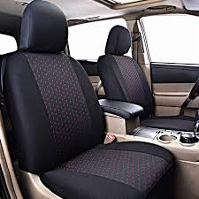 flying banner new 11 pcs jacquard car seat cover set auto seat covers universal car detector