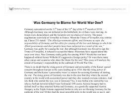 was to blame for wwi international baccalaureate document image preview
