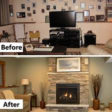 Heat & Glo Slim Line 550 TRS Gas Fireplace with Halston front in ...