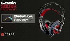 steelseries dota 2 edition siberia v2 full size headset