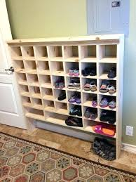 cubby shoe organizer shoe organizer how to build a vintage style mail sorter to organize shoes