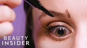 We Tried A $9 VS $40 <b>Microblading Eyebrow Pen</b> - YouTube