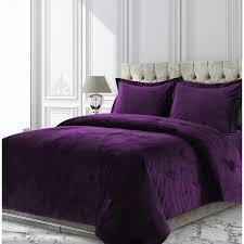 venice velvet oversized solid duvet cover set free today com 24401541