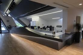 project update ashton sixth form college reception desk lomax interiors