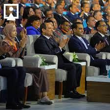 انطلاق جلسة المؤتمر الاول لمبادرة حياة كريمة بحضور الرئيس