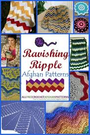 Ripple Afghan Pattern Unique Inspiration Design