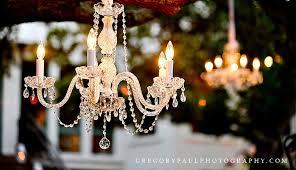 outdoor wedding chandeliers miami