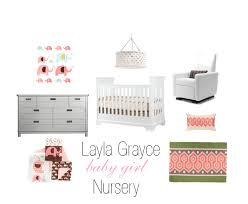 layla grayce baby girl nursery