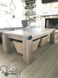 diy modern coffee table modern farmhouse coffee table diy modern metal coffee table