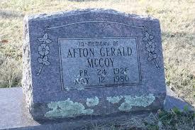 Afton Gerald McCoy (1926-1980) - Find A Grave Memorial