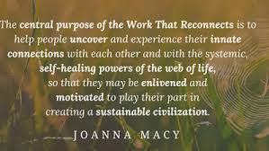Image result for The Work that Reconnects