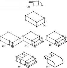 1853_193_73 isometric draw figure solution to isometric drawing problem using an isometric on 3 point perspective template