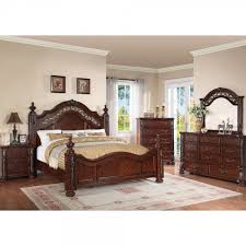 Charleston Bedroom - Bed, Dresser & Mirror - Queen (55860) : Bedroom ...