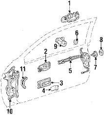 parts com® lexus lock assy fr door w partnumber 6903024070 1997 lexus sc400 base v8 4 0 liter gas front door