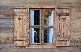 Alte Fenster Alte Fensterrahmen Versprühen Charme