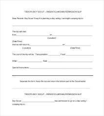 Permission Slip Forms Template Free 14 Permission Slip Samples In Word Pdf