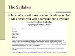 creating a syllabus creating a syllabus graduate student teaching seminar ppt