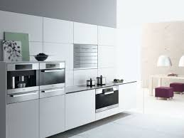 Modern White Kitchen With Miele Appliances In The Kitchen In 2019
