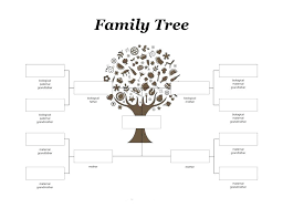 Family Tree Chart Online Related For Free Online Family Tree Maker Template Download Monster