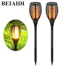 tiki lighting. Wonderful Lighting Solar Tiki Lights Led Flickering Torches Light Dancing Flame  Lighting Outdoor Patio Garden   Inside Tiki Lighting
