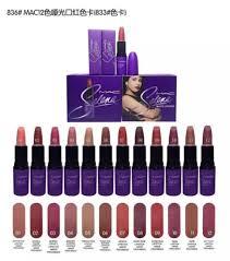 mac selena collection liquid lipstick matte 12pcs lot