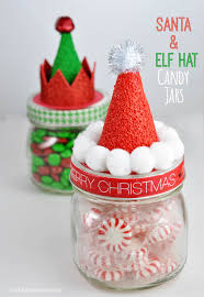 Decorate A Jar For Christmas masonjarchristmasdecorations100 All About Christmas 65