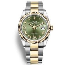 ROLEX DATEJUST 36 126233 MẶT SỐ XANH LÁ CỌC SỐ LA MÃ - Frodo's Timepieces