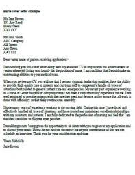 Guideline - Nursing Cover Letter Example   Job Catching   Pinterest ...